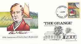Australia 1980 Anniversary of Charles Stuart