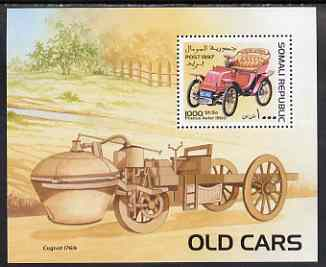 Somalia 1997 Old Cars perf m/sheet unmounted mint