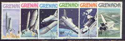 Grenada 1978 Space Shuttle perf set of 7 fine cto used, SG 915-20*