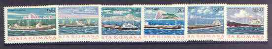 Rumania 1979 Merchant Navy set of 6 unmounted mint, SG 4476-81