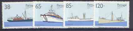 Portugal - Madeira 1992 Inter-Island Ships set of 4 unmounted mint, SG 281-84
