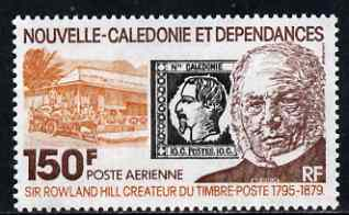 New Caledonia 1979 Death Centenary of Sir Rowland Hill 150f unmounted mint, SG 627