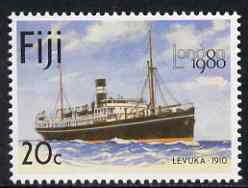 Fiji 1980 The Levuka 20c (from London 1980 set) unmounted mint SG 597