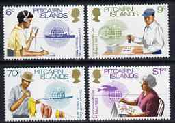 Pitcairn Islands 1983 Commonwealth Day set of 4 unmounted mint, SG 234-37