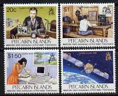 Pitcairn Islands 1995 Centenary of First Radio Transmission set of 4 unmounted mint, SG 479-82*