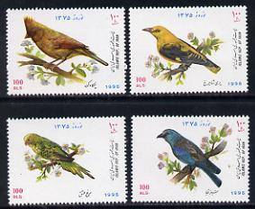 Iran 1996 New Year Festival (Birds) set of 4 unmounted mint SG 2870-73*
