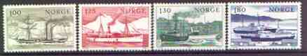 Norway 1977 Coastal Shipping set of 4 unmounted mint, SG 800-803