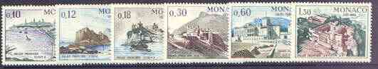 Monaco 1966 750th Anniversary of Monaco Palace set of 6 unmounted mint, SG 833-38