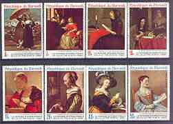 Burundi 1968 Letter Writing Week (Paintings) perf set of 8 unmounted mint, SG 387-94