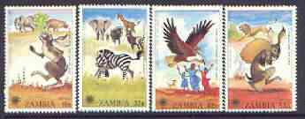 Zambia 1979 International Year of the Child perf set of 4 unmounted mint, SG 287-90