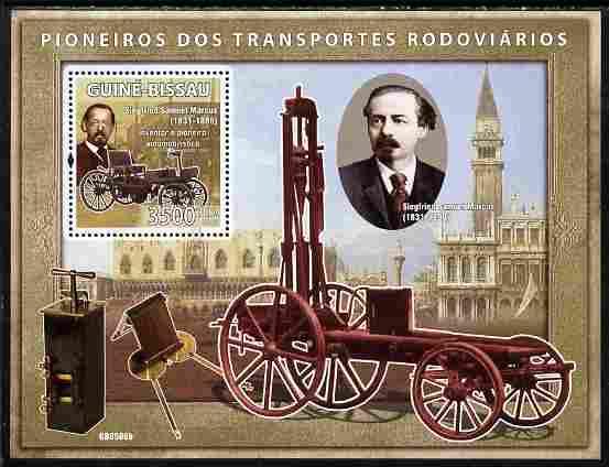 Guinea - Bissau 2008 Pioneers of Transport perf souvenir sheet unmounted mint Michel BL 675