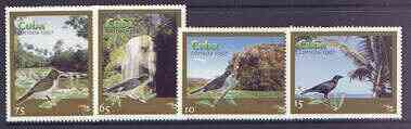 Cuba 1997 Tourism (Birds & Scenes) complete perf set of 4 values unmounted mint, SG 4199-4202