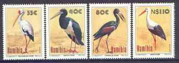 Namibia 1994 Storks complete perf set of 4 unmounted mint, SG 649-52