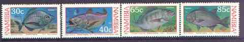 Namibia 1994 Coastal Angling complete perf set of 4 unmounted mint, SG 636-39