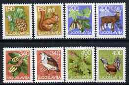 Yugoslavia 1979 New Year (Flora & Fauna) set of 8 unmounted mint, SG 1857-64