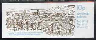 Booklet - Great Britain 1978-79 Farm Buildings #3 (Yorkshire) 10p booklet complete, SG FA6