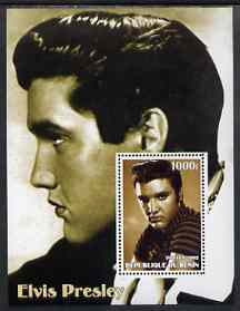 Benin 2002 Elvis Presley perf s/sheet #01 unmounted mint