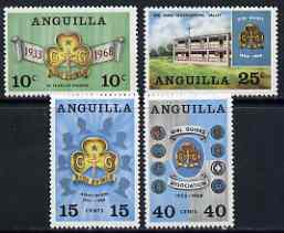 Anguilla 1968 35th Anniversary of Girl Guides set of 4 unmounted mint, SG 40-43