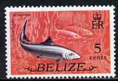 Belize 1974 Bonefish 5c (from def set) unmounted mint SG 367