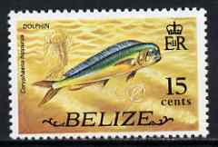 Belize 1974 Dolphin Fish 15c (from def set) unmounted mint SG 369