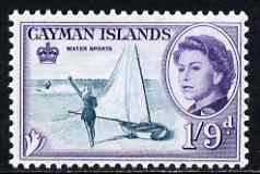 Cayman Islands 1962-64 Water Sports 1s9d unmounted mint, SG 176