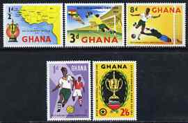 Ghana 1959 West African Football Competition set of 5 unmounted mint, SG 228-32