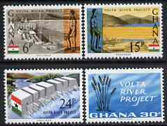 Ghana 1966 Volta River Project perf set of 4 unmounted mint, SG 408-11