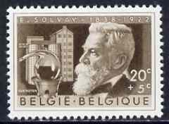 Belgium 1956 Ernest Solvay (scientist) 20c+5c (from Cultural Fund set) unmounted mint, SG 1561