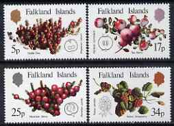 Falkland Islands 1983 Native Fruits perf set of 4 unmounted mint, SG 459-62
