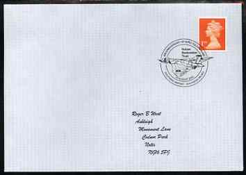 Postmark - Great Britain 2002 cover for 40th Anniversary of Avro Vulcan XL426 with illustrated Southend Airport cancel
