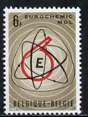 Belgium 1966 European Chemical Plant 6f unmounted mint, SG 1974, stamps on chemistry