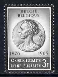 Belgium 1965 Queen Elizabeth Commemoration (Medal) unmounted mint SG 1958