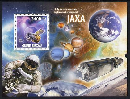 Guinea - Bissau 2009 JAXA - Japanese Space Agency perf s/sheet unmounted mint