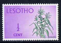 Lesotho 1971 Maize 1/2c from def set unmounted mint, SG 191*