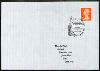 Postmark - Great Britain 2002 cover for 5th Anniversary of Princess Di's Death with special illustrated Althorp cancel