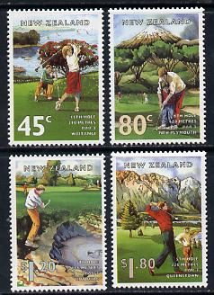 New Zealand 1995 New Zealand Golf Courses set of 4 unmounted mint, SG 1861-64