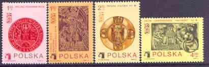 Poland 1973 Polska 73 Stamp Exhibition perf set of 4 unmounted mint, SG 2243-47