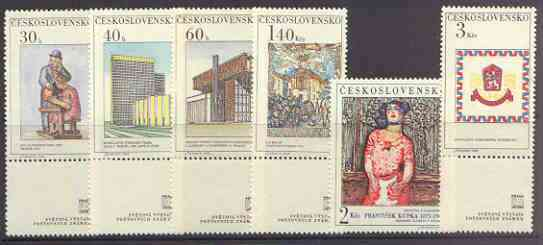 Czechoslovakia 1968 'Praga 68' Stamp Exhibition (3rd Issue) set of 6 unmounted mint, SG 1743-48