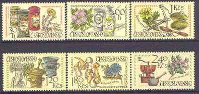Czechoslovakia 1971 Pharmaceutical Congress perf set of 6 unmounted mint, SG 1979-84