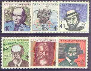 Czechoslovakia 1972 Cultural Anniversaries perf set of 6 unmounted mint, SG 2041-46