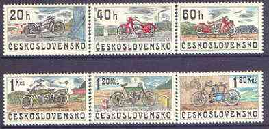 Czechoslovakia 1974 Motorcycles perf set of 6 unmounted mint, SG 2234-39
