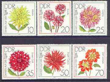 Germany - East 1979 International Garden Exhibition perf set of 6 unmounted mint, SG E2145-50