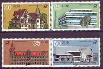 Germany - East 1982 Post Office Buildings perf set of 4 unmounted mint, SG E2382-85