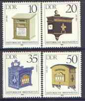 Germany - East 1985 Letter-Boxes perf set of 4 unmounted mint, SG E2636-39