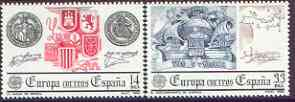 Spain 1982 Europa perf set of 2 unmounted mint, 2680-81