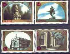 Spain 1991 Madrid - European City of Culture (1st issue) perf set of 4 unmounted mint, SG 3111-14