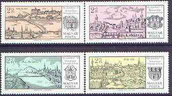 Hungary 1971 Budapest '71 Stamp Exhibition & Stamp Centenary (2nd issue) perf set of 4 unmounted mint, SG 2572-75
