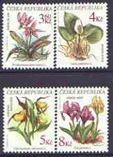 Czech Republic 1975 Endangered Plants perf set of 4 unmounted mint, SG 150-53