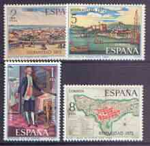 Spain 1972 Spain in the New World (1st issue) perf set of 4 unmounted mint, SG 2165-68