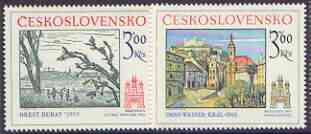Czechoslovakia 1978 Historic Bratislavia (2nd issue) set of 2 unmounted mint, SG 2402-03